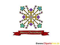 Carte virtuelle Noël Image gratuit