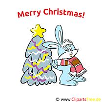 Cartes de Voeux Merry Christmas
