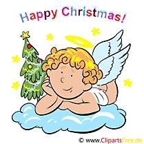 Happy Christmas Carte de Voeux