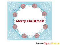 Joyeux Noël Carte de Voeux à télécharger