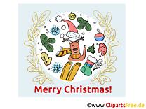 Joyeux Noël Carte gratuite