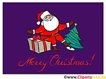 Joyeux Noël Carte Virtuelle gratuite