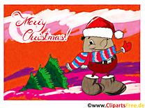 Joyeux Noël E-Carte de Voeux