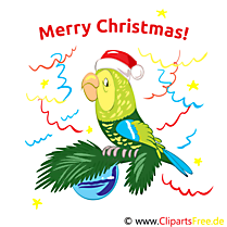 Merry Christmas Carte de Voeux gratuit