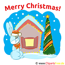 Merry Christmas Cartes, Cliparts, Images