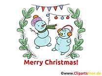 Noël Carte de Voeux