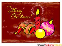Noël Carte de Voeux gratuite