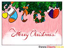 Noël E-Carte Cadeau à imprimer ou à envoyer par mail