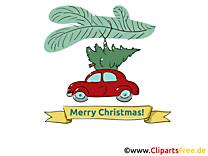 Noël E-Carte de Voeux