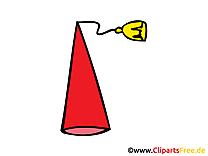 Chapeau de fête d'ane clip arts gratuits - illustrations