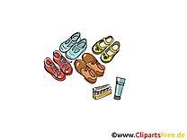 Chaussures clip art gratuit dessin