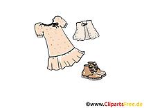 Femme vêtements image à télécharger clipart