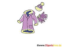 Hiver vêtements images gratuites clipart