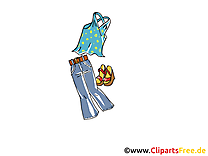 Mode illustration gratuite - Vêtements clipart
