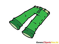 Pantalon illustration gratuite clipart