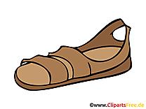 Sandale images clip art gratuit