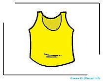 T-shirt dessin clip arts gratuits
