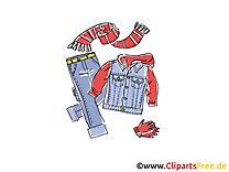 Vêtements ado image gratuite clipart