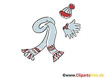 Vêtements d'hiver image à télécharger clipart