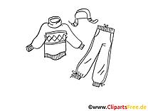 Vêtements images à imprimer clipart gratuit