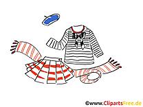 Vêtements matelot dessin à télécharger images