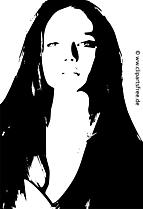 Modèle images - Noir et blanc clip art gratuit