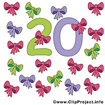 20 noeuds images - Nombre dessins gratuits