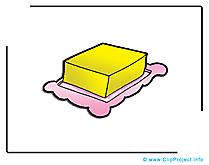 Beurre image - Nourriture images cliparts