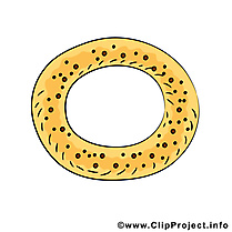 Bretzel illustration - Nourriture images