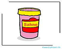 Crème dessin - Nourriture à télécharger