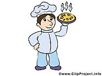 Dessin cuisinier gratuit - Nourriture image