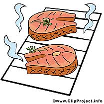 Grillage dessins gratuits - Nourriture clipart