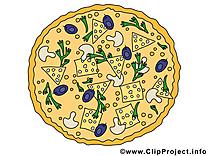 Image gratuite pizza nourriture clipart