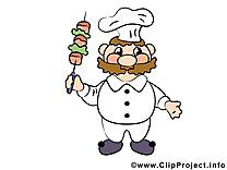Images cuisinier - Nourriture clip art gratuit
