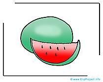 Melon d'eau images - Nourriture dessins gratuits