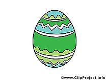 Oeuf dessin Pâques cliparts à télécharger