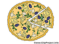 Pizza clip art – Nourriture gratuite