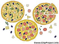 Pizza image gratuite – Nourriture clipart