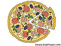 Pizza images gratuites – Nourriture clipart