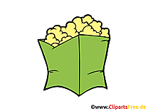 Pop-corn cliparts gratuis - Nourriture images