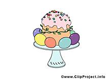 Régalade dessins gratuits - Pâques clipart