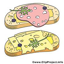 Sandwich nourriture image à télécharger gratuite