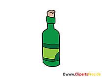 Bouteille clip art gratuit dessin