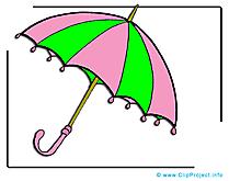 Parasol clip art gratuit dessin