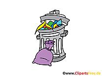 Poubelle dessins gratuits clipart gratuit