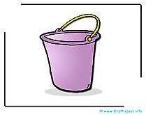 Seau illustration à télécharger gratuite