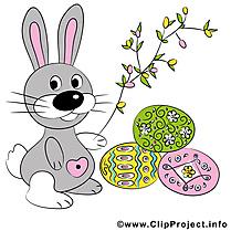 Bonnes pâques illustration gratuite clipart