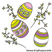Branches image à télécharger - Pâques clipart