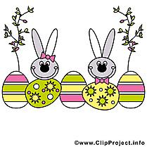 Dessin à télécharger - Pâques images