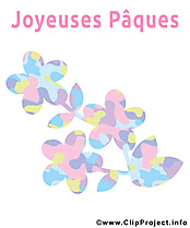 Fleurs image - Pâques images cliparts